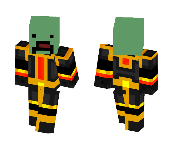 Unturned zombie png. Download armor minecraft skin