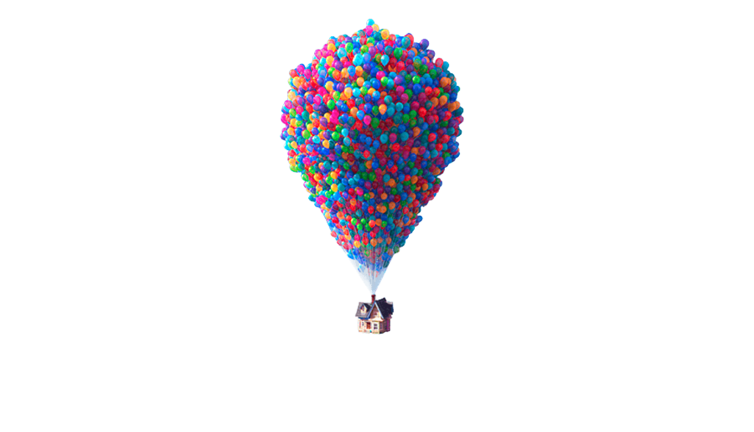Up balloons png. It s time i