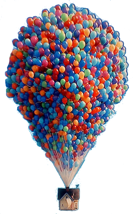 Up balloons png. Haha yes discovered by