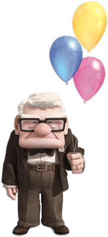 Up balloons png. Download hd carl holding