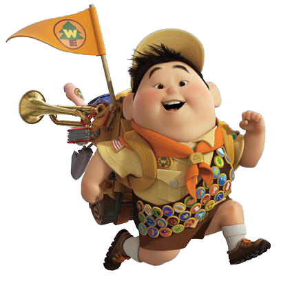 Up movie png. Dibujos de exploradores russell