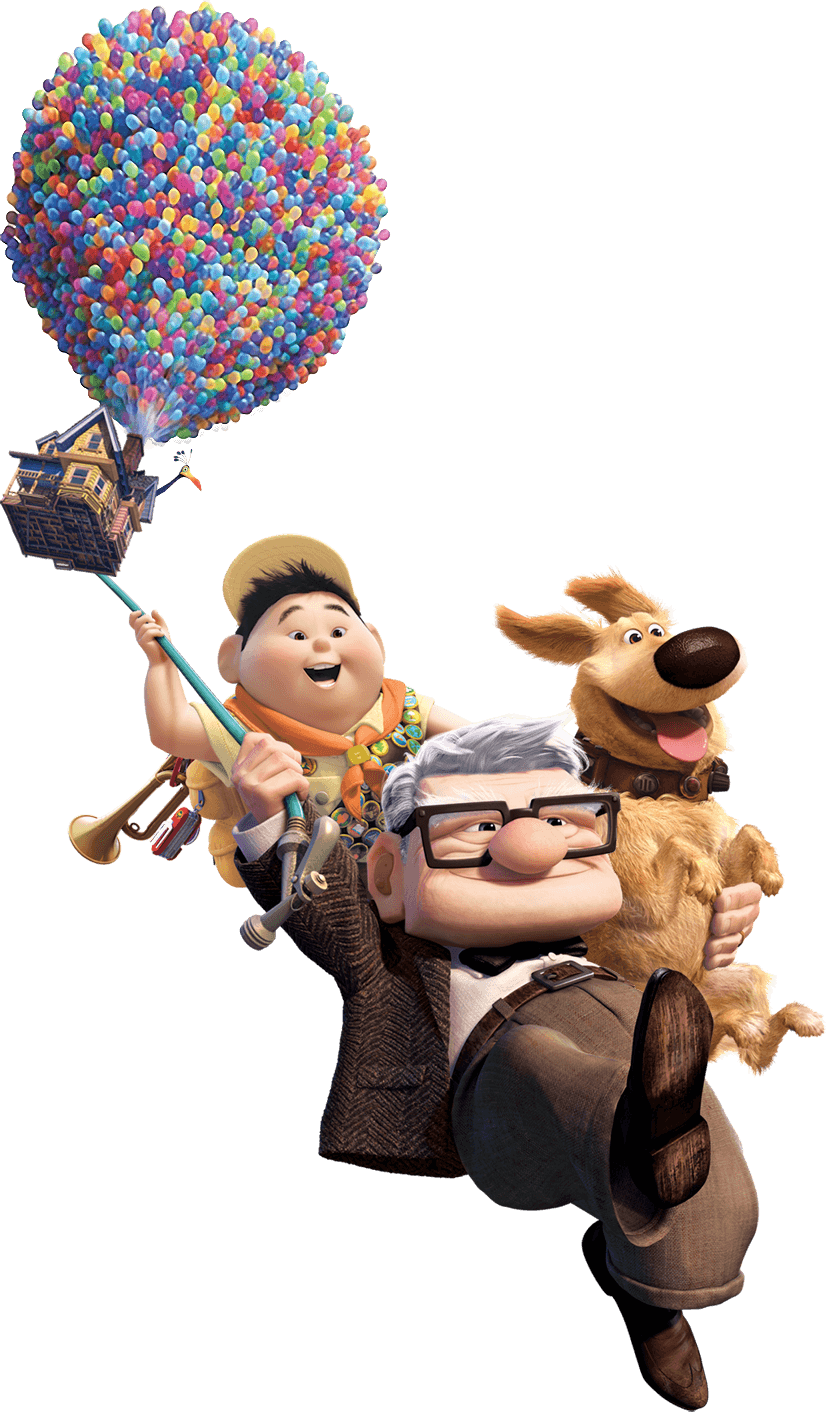 Up movie png. Blu ray disc carl