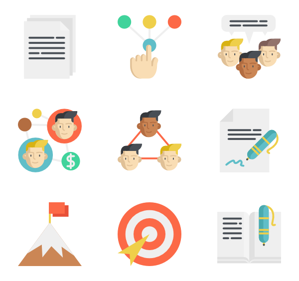 Up vector business success. Icons free