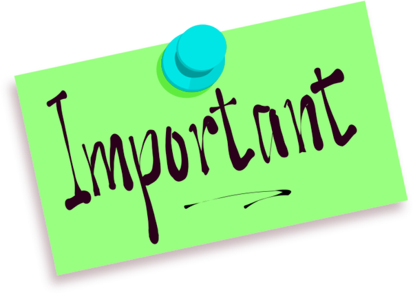 Upcoming events clipart important info. Classroom news and image