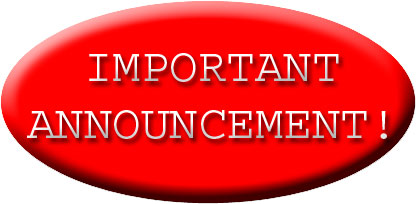 Update clipart important update. Announcement free