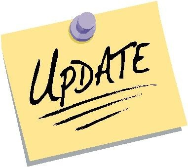 Update clipart important update. News