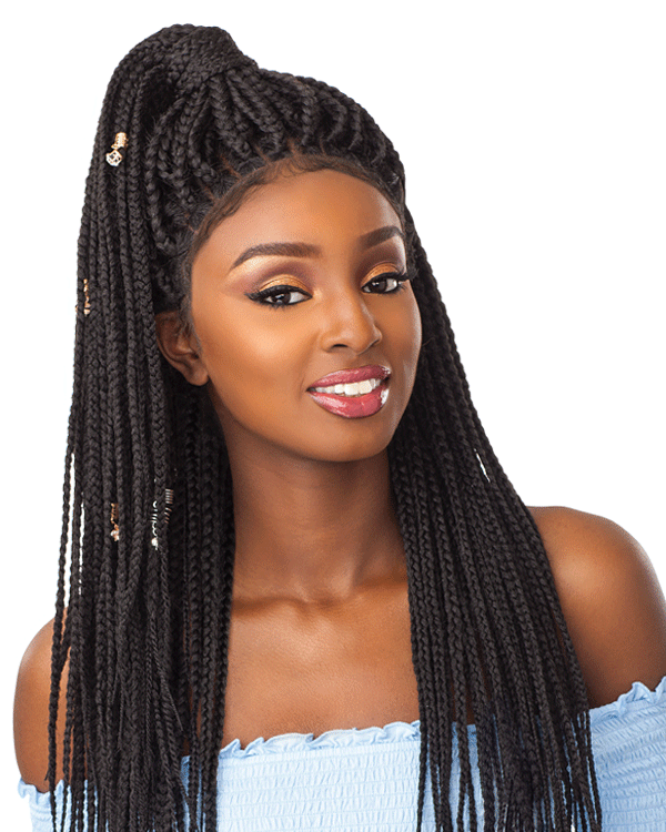 Wig clip extra large. Sensationnel box braid