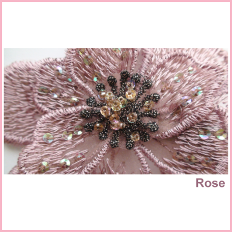 Updo clip flower. Hair barrettes tagged clips
