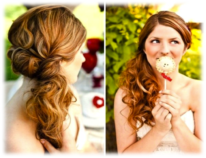 Updo clip party. Most popular and simple