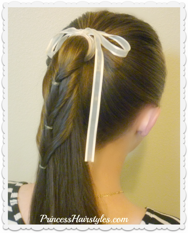 Updo clip school. Back to hairstyle ideas