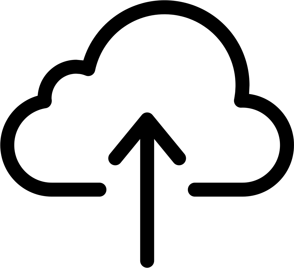 Upload svg cloud. Augic png icon free