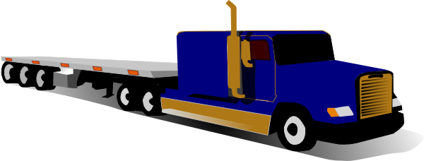 Semi clipart container truck. Ups at getdrawings com