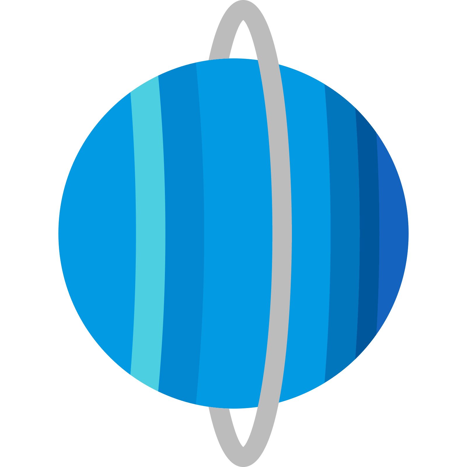 Uranus icon free download. Vector planet clipart library library