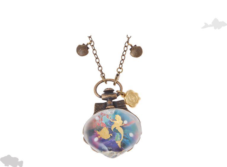 Ursula necklace png. The little mermaid