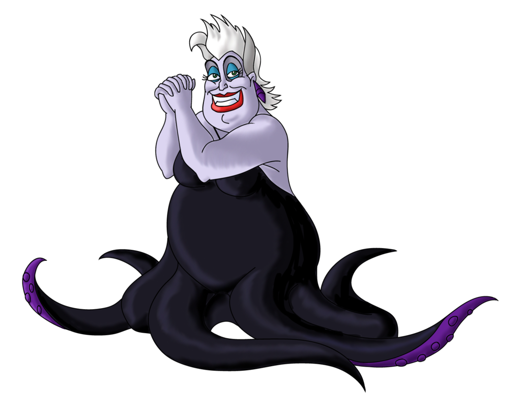 Ursula tentacles png. Disney inspiration the little