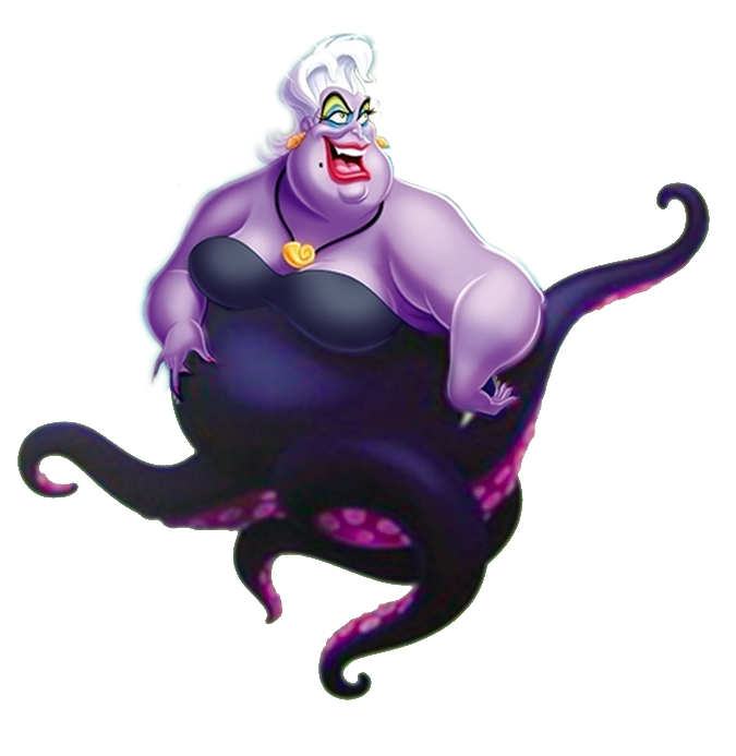 Ursula tentacles png. The united organization toons