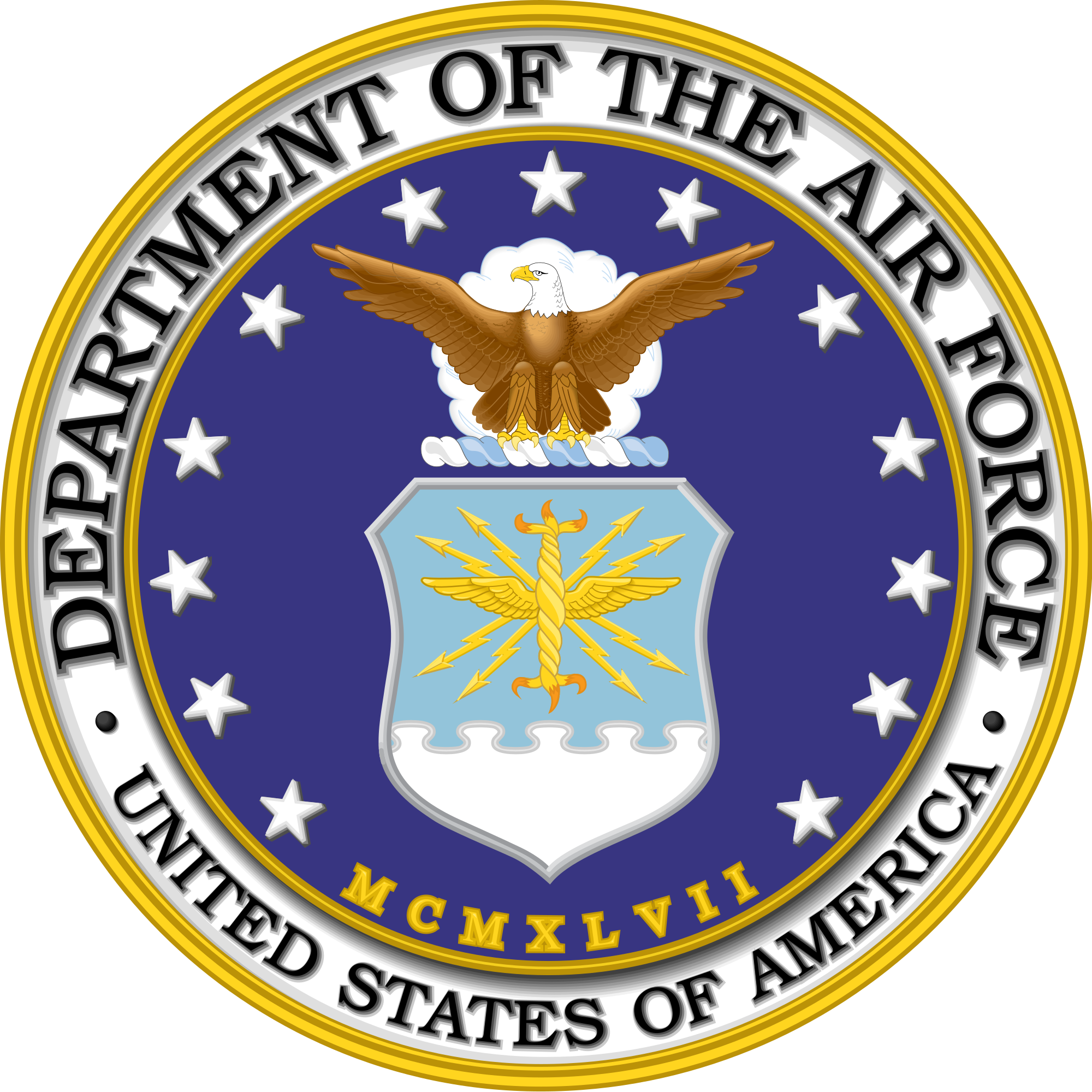 Us air force png. File seal of the