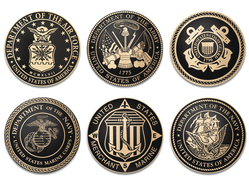 Army seal png. Plaque marine plaques navy