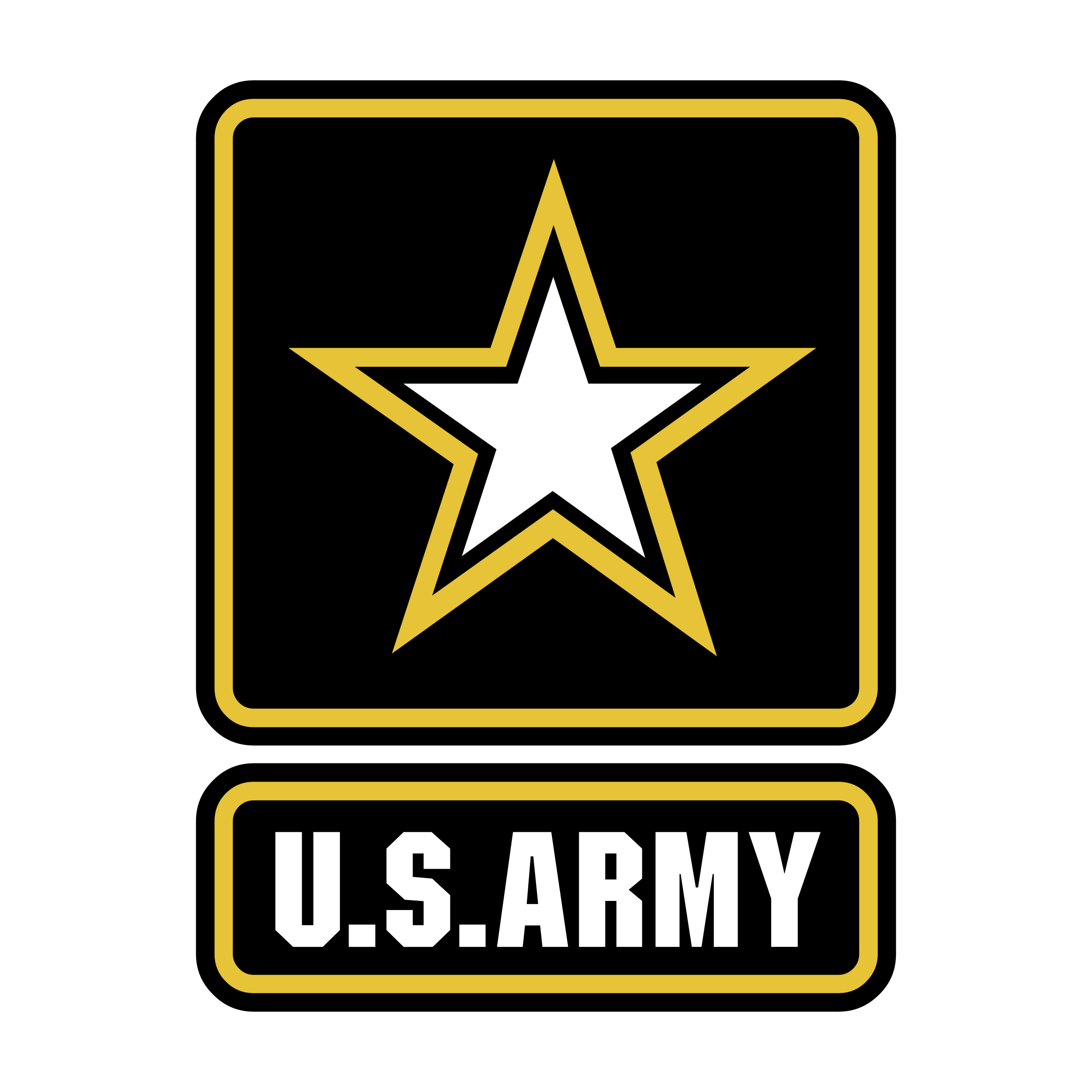 Us army logo png. Transparent svg vector freebie