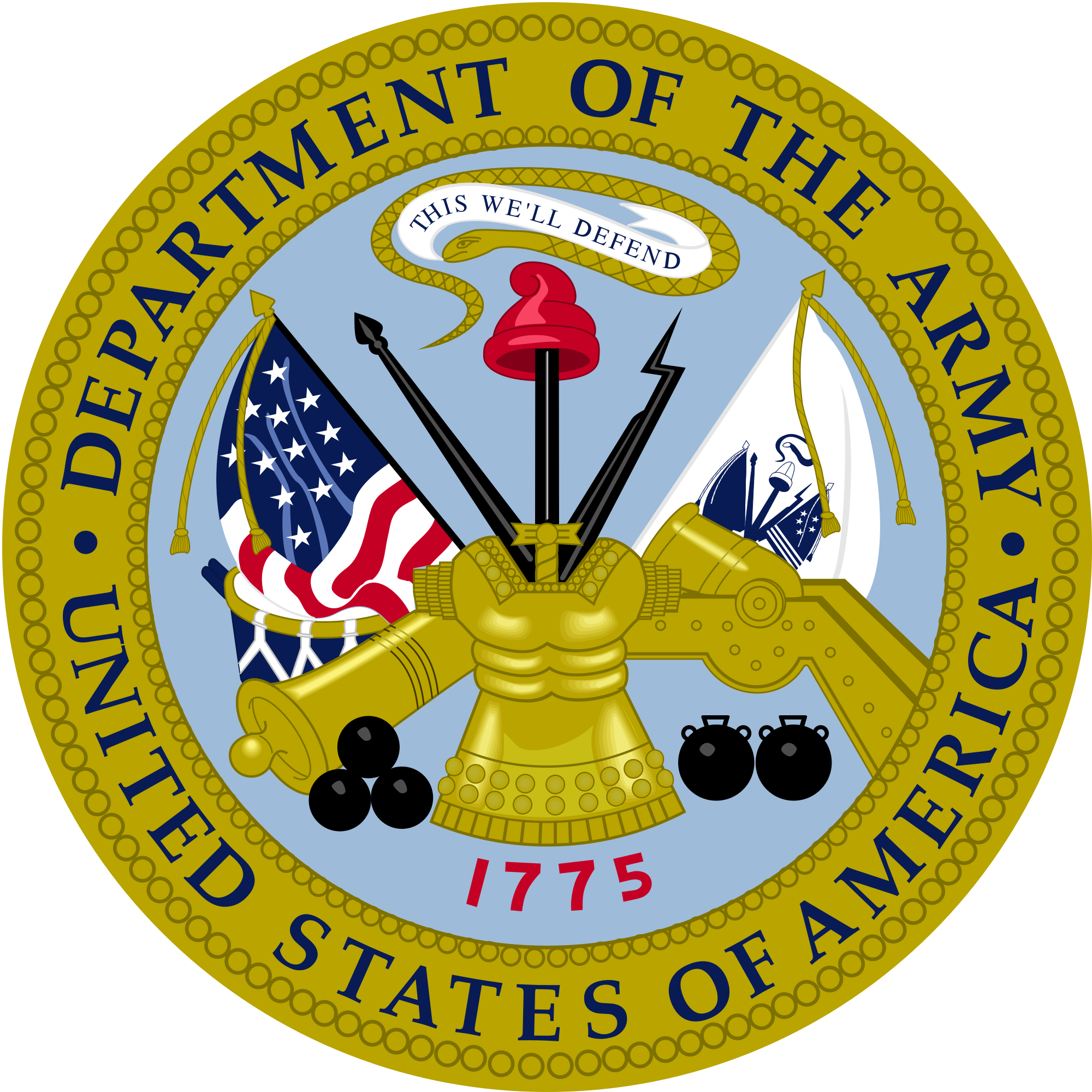Us army seal png. File department of the