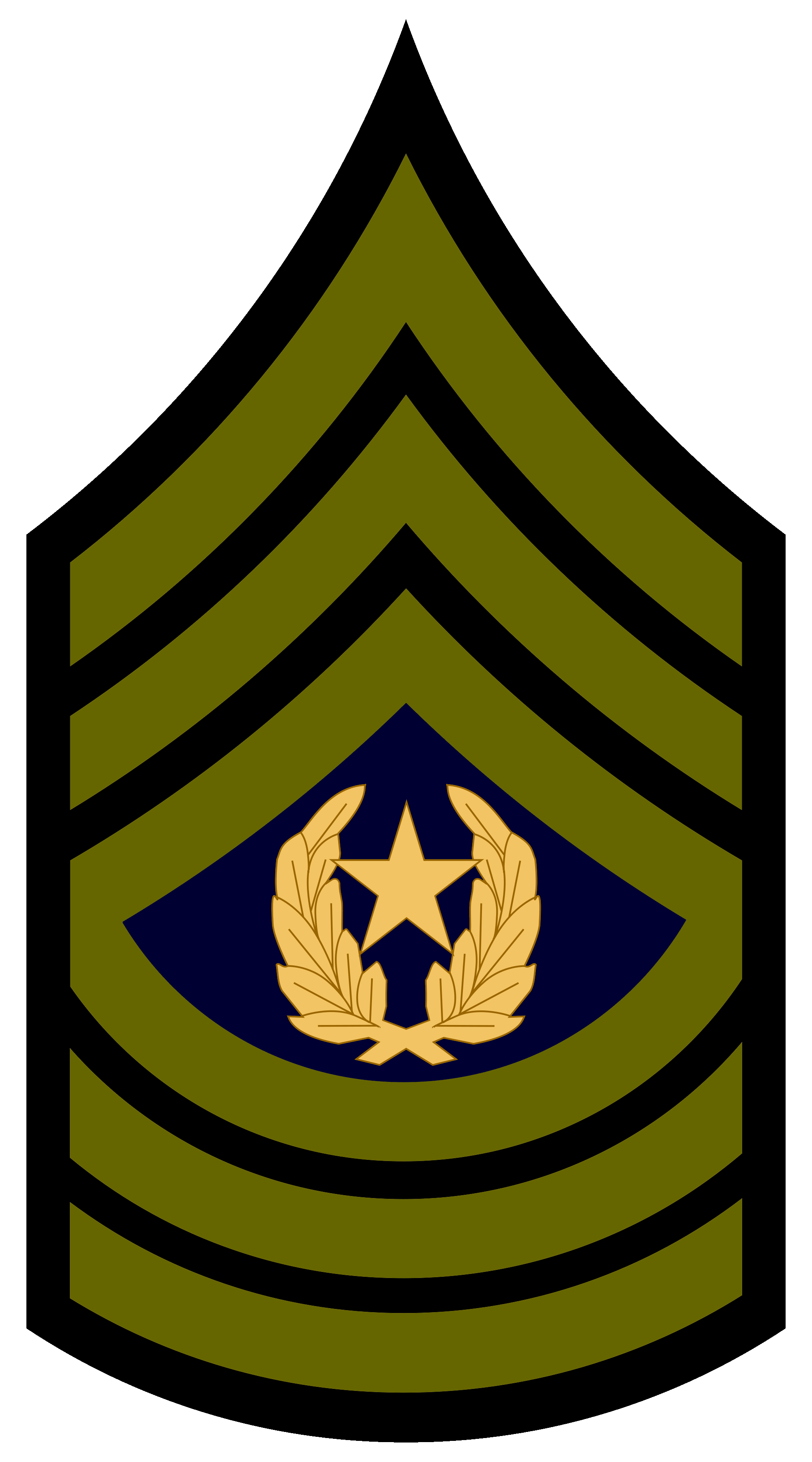 Us army staff sergeant insignia png. Csm rank transparent images