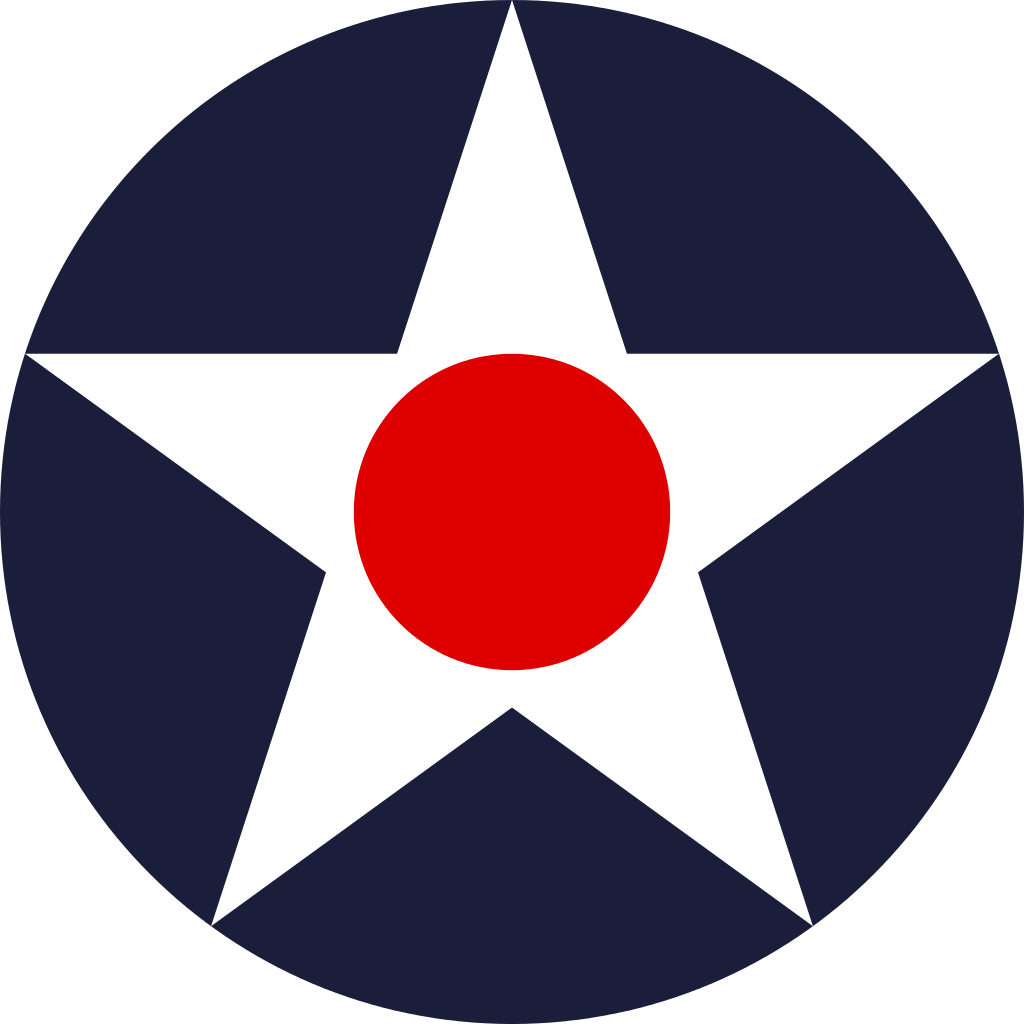 Us army star png. File usaac roundel svg