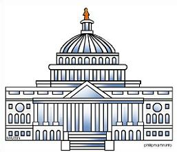 Us clipart capitol. Free building