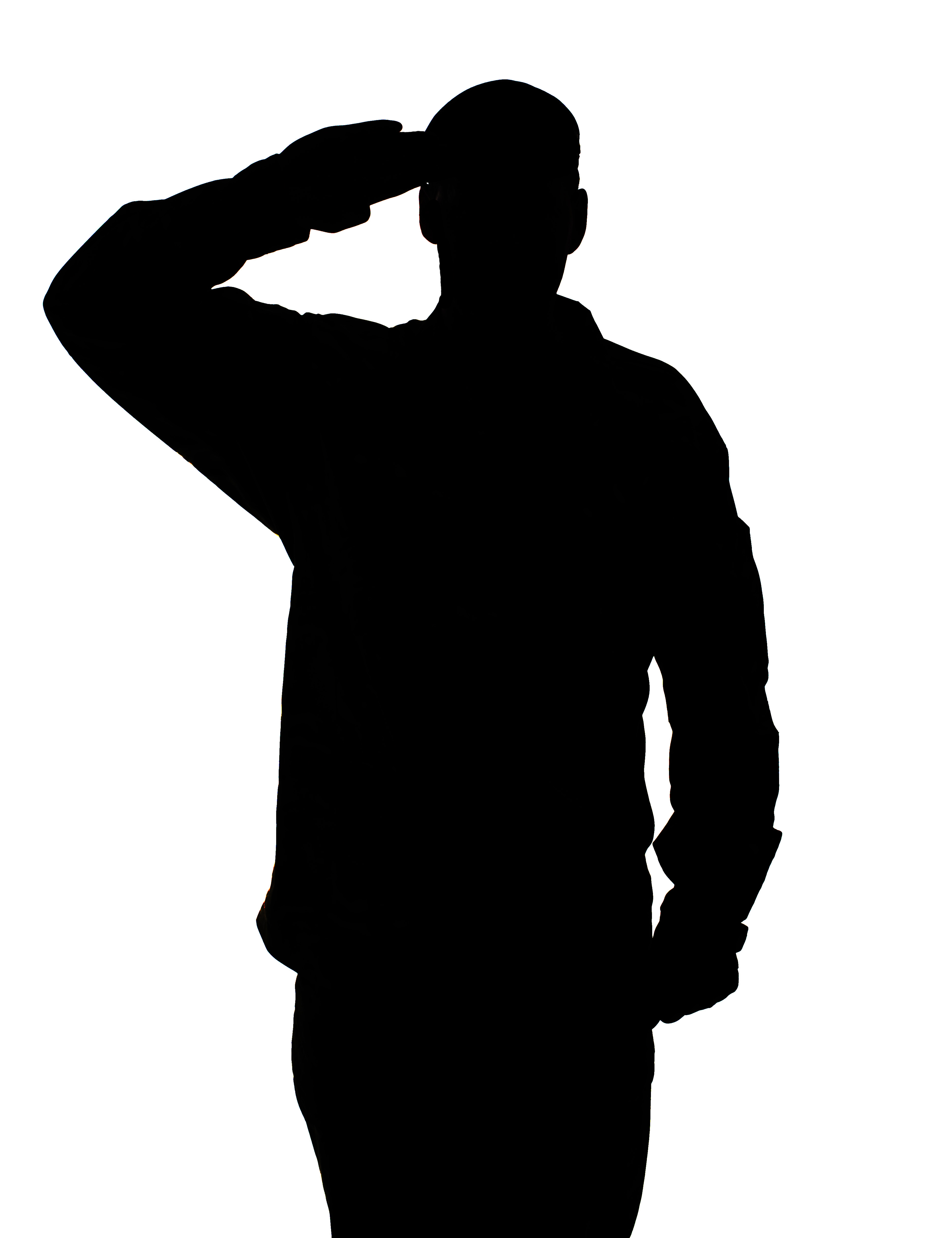 Us clipart soldier soldier. Civil war silhouette at