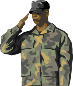 Us clipart soldier soldier. American