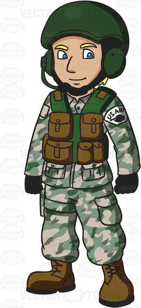 Us clipart soldier soldier. A army tank operator