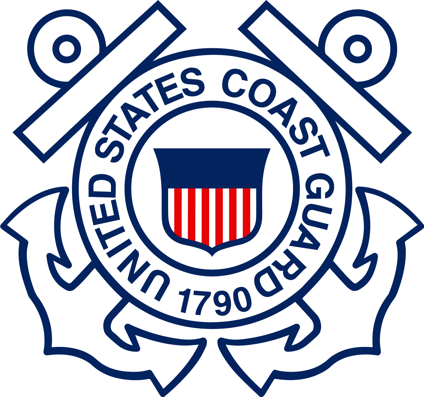 Us coast guard seal png. Military logos vector army