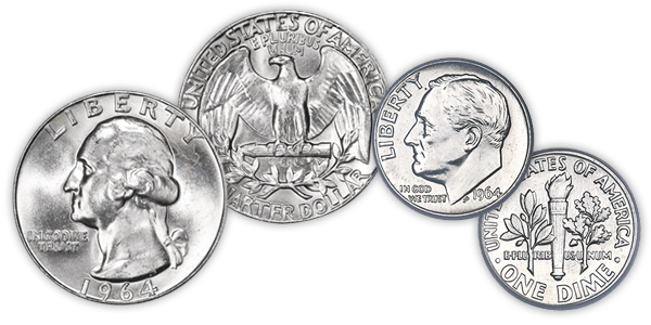 Us coins png. Silver coin bags