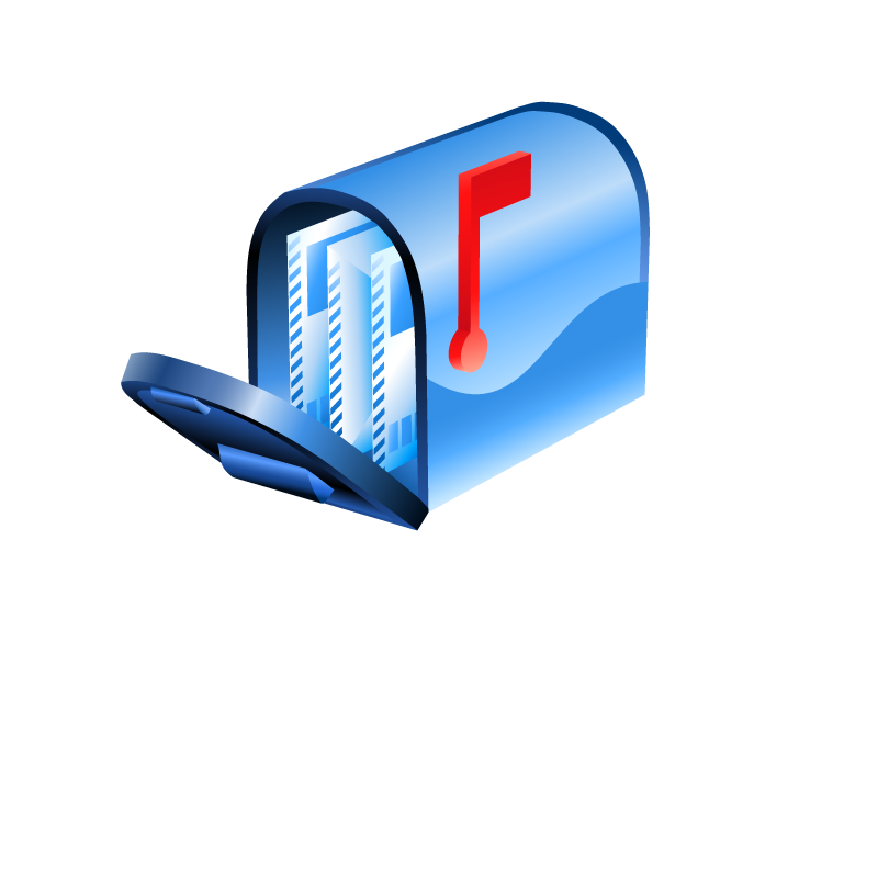 Us mailbox png. Mail box icons vector