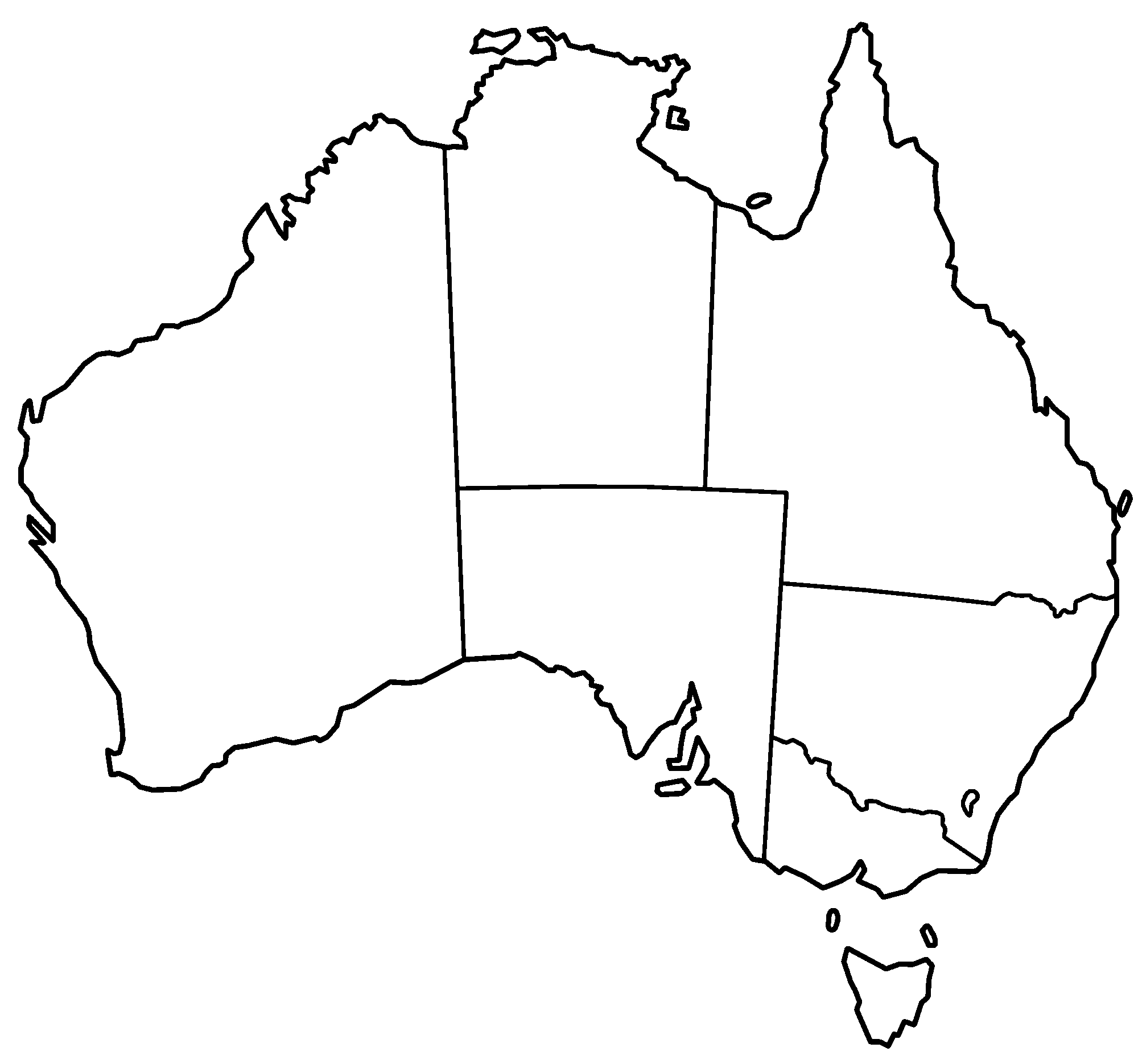 Us map outline png. File australia states blank