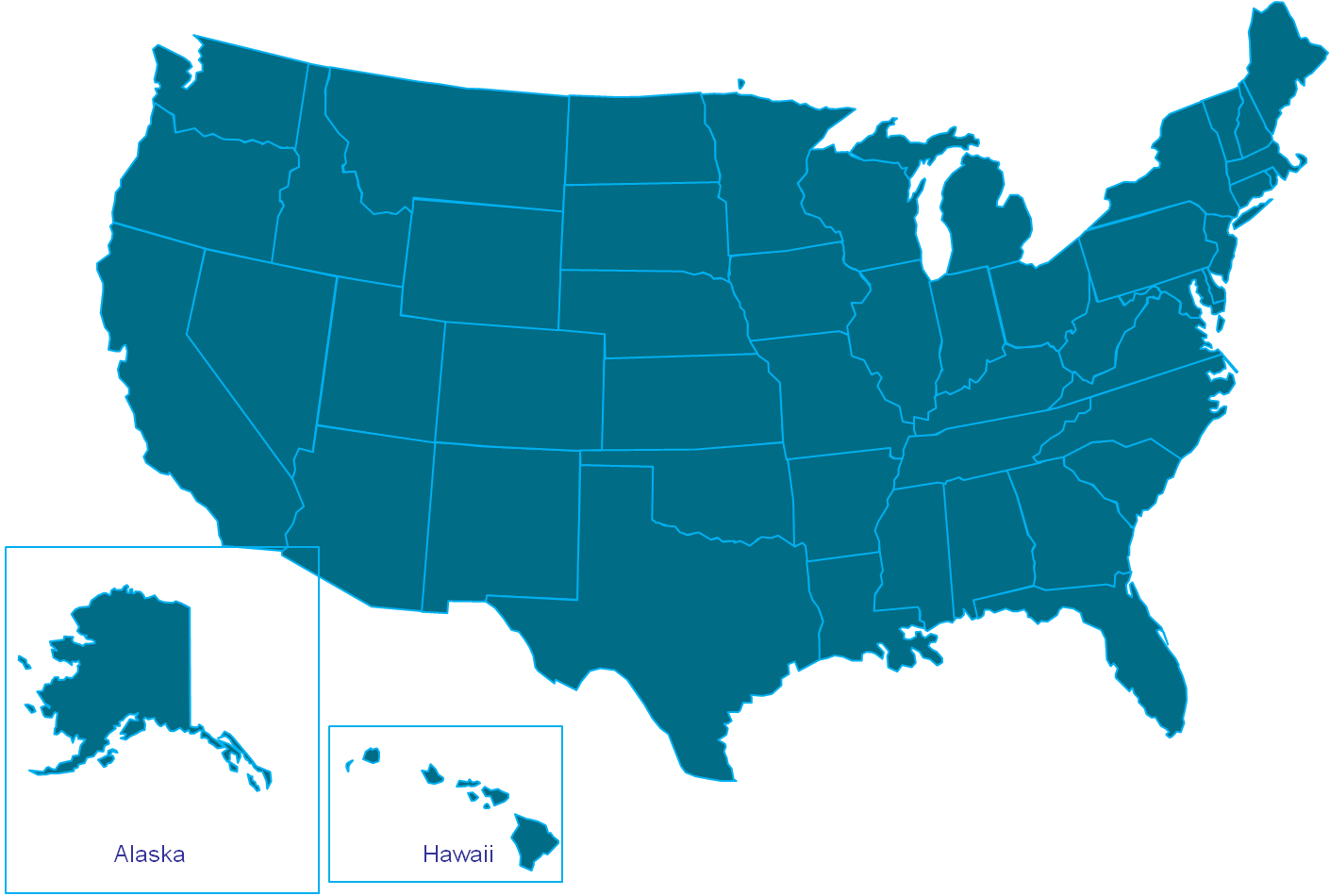Us vector state. Background united states map