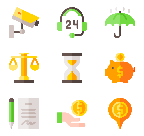 Wallet icons free banking. Us vector 1080p clip art transparent stock