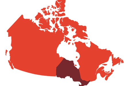 Us vector canada. Map outline full hd