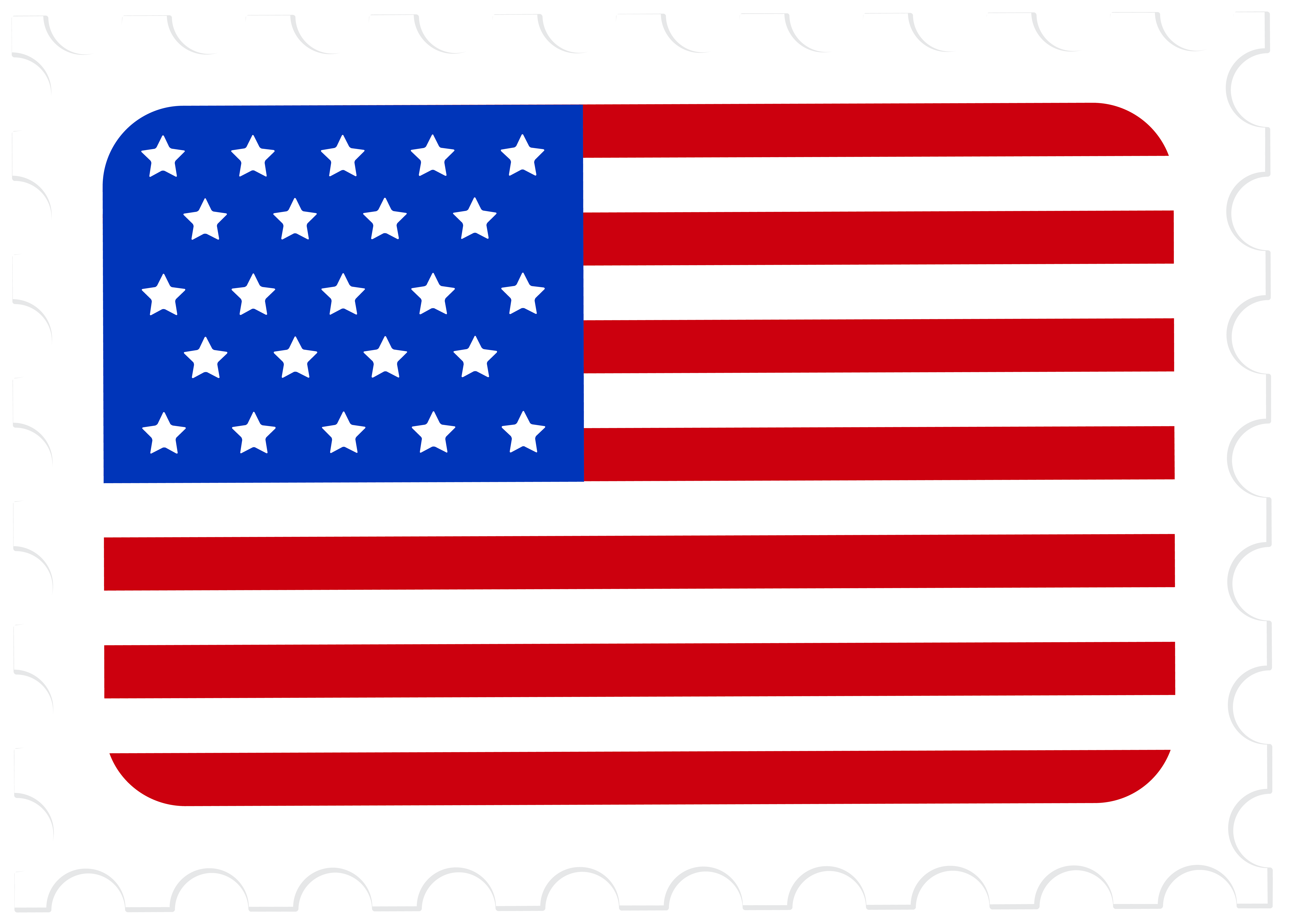 Us flag with crown. Stamp clipart jpg freeuse download