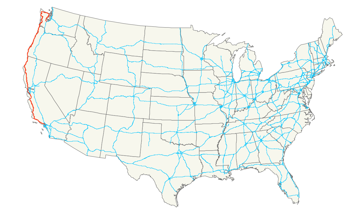 Us vector highway. U s route wikipedia