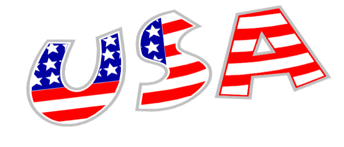 Flag free usa graphics. American clipart black and white library