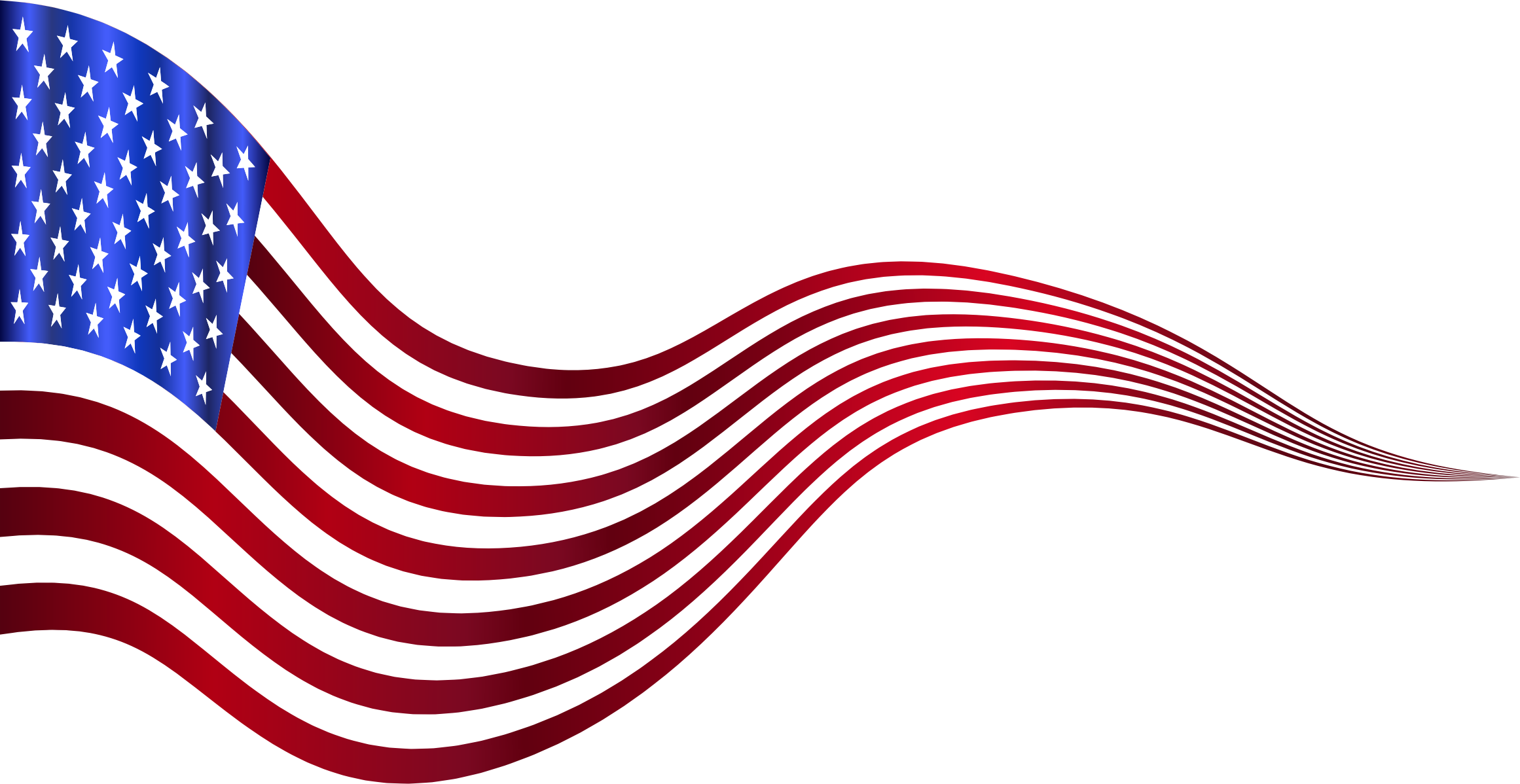 Usa flag clip art png. Clipart wavy banner variation