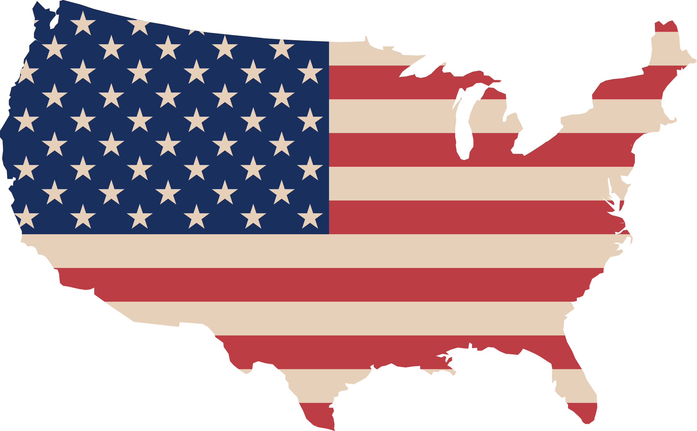 Usa flag icon png. Map and icons free