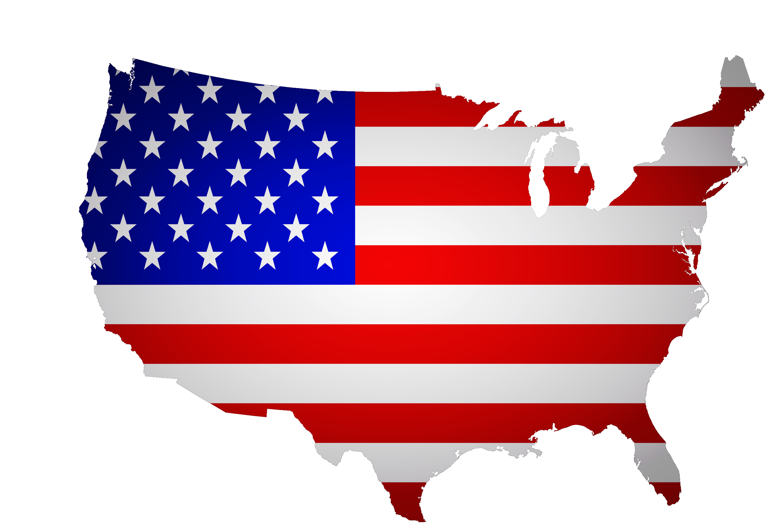 Usa flag map png. Florida of the united