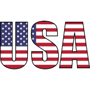 Usa letters png. United states of america
