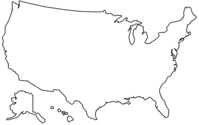 Usa map black and white png. Millions of images vectors
