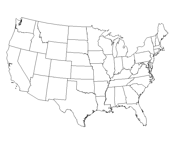 Usa map black and white png. Test sdc scholarship