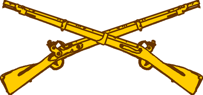 Usmc crossed rifle logo png. Us army infantry rifles