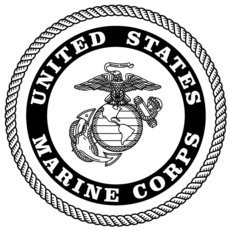 Usmc drawing black and white. Image result for marine
