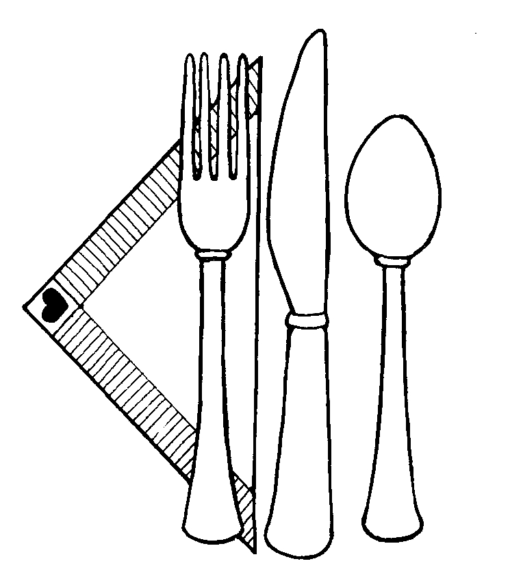 Utensils clipart colouring page. Coloring pages clip art