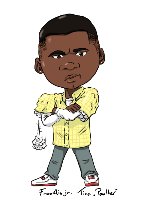 Atv drawing gta trevor. V child franklin clinton